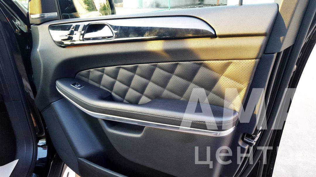 Перетяжка салона в стиле Designo, Mercedes-Benz GL-klasse I (X166) – внедорожник