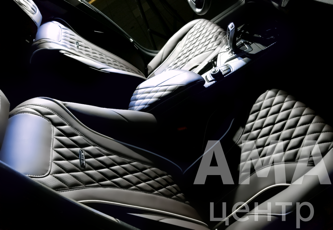 Перетяжка салона автомобиля BMW F20