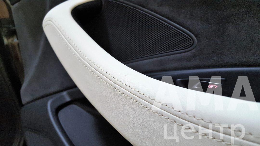 Перетяжка салона AUDI A8