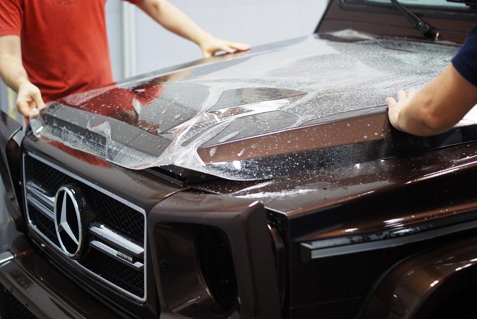 Антигравийная защита автомобиля SunTek PPF