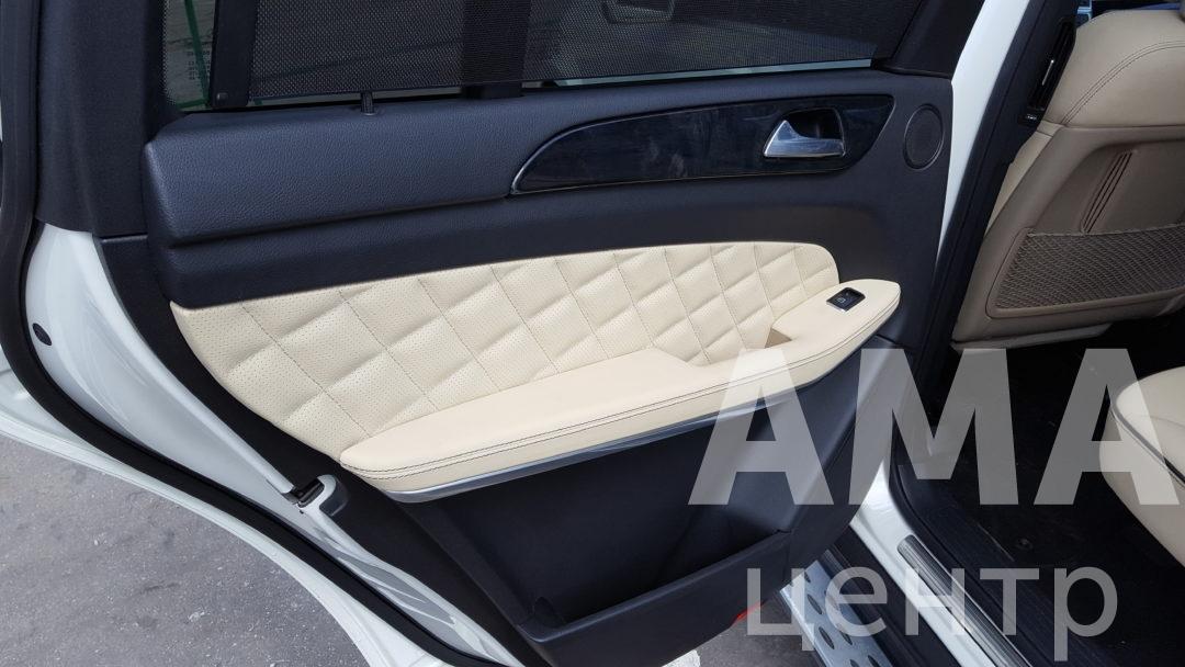 Перетяжка салона в стиле Designo Mercedes-Benz GL-klasse II (X166)