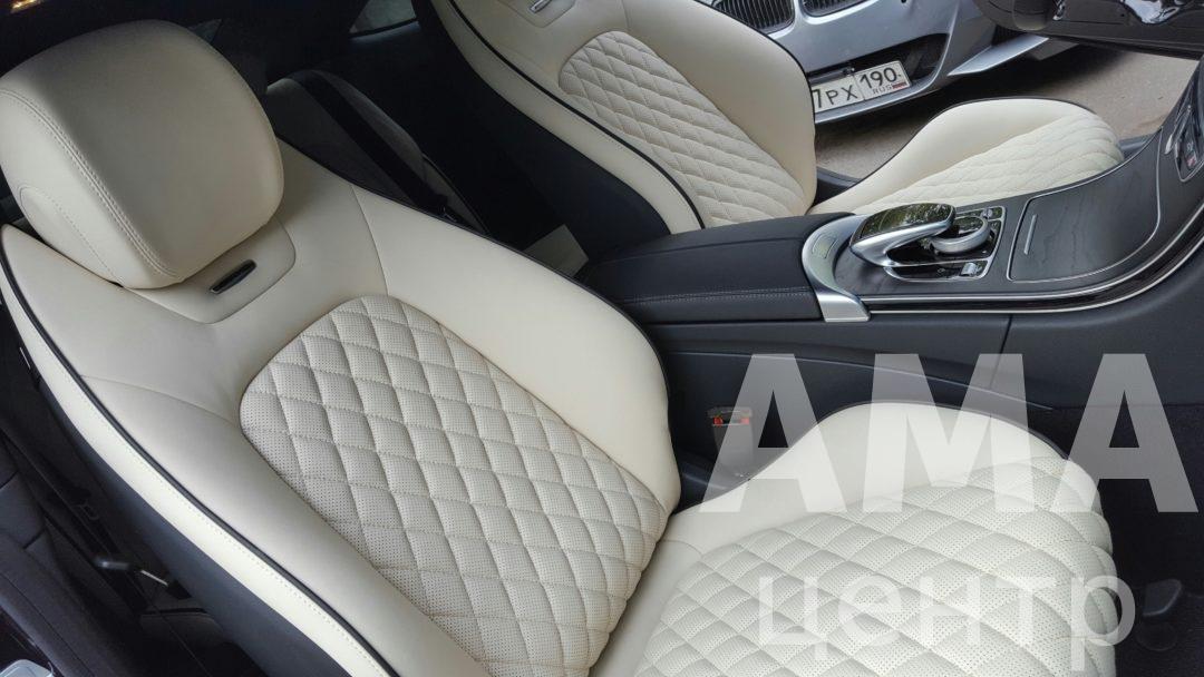 Перетяжка салона Mercedes-Benz C - Класс